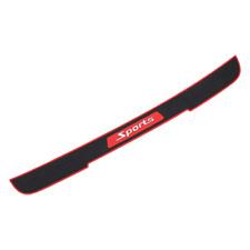 Car Accessories Door Sill Scuff Plate Rubber Rear Bumper Protector Guard 90*7.2