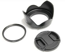 58mm Lens Hood Cap UV Filter For Fuji FujiFilm HS10 HS20EXR