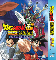 Dragon Ball Super Complete Series 1-131 END + 3 Movie English Dub Ship From USA