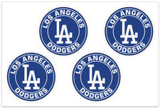 (4) Los Angeles Dodgers MLB Decals / Yeti Stickers *Free Shipping