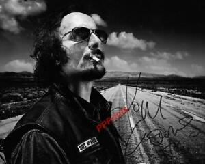 KIM COATES TIG SONS OF ANARCHY AUTOGRAPHED 10X8 SIGNED REPRO PHOTO PRINT