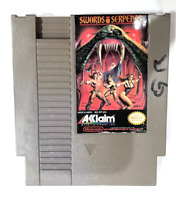 Swords and Serpents ORIGINAL NINTENDO NES GAME Tested + Working!