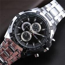 Cool Army Stainless Steel Quartz Watch Men Hot Brand CURREN Casual Sport Relojes