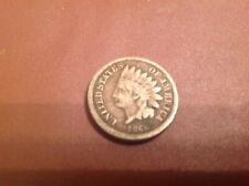 "USA 1860 ""Indian Head"" 1 cent coin."