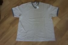 Men's GAP Beige Fawn Cotton T Shirt Top - Size XL - Short sleeve V Neck BNWT