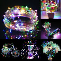 10M 100LED Colorful USB Copper Wire Fairy Wedding Xmas Party String Lights DC 5V