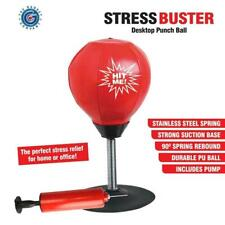 Desktop Mini Punching Ball Stress Relief Buster Free Standing Table Punch Ball
