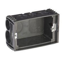 2x Deta Wall Mounting Box + Adjustable Lugs, Multiple Conduit Entry Points