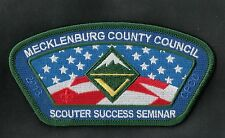 Mecklenburg County Council 2013 Scouter Succes Seminar Forest Grn Brd CSP 400541