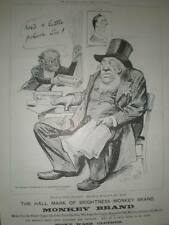 Monkey Brand Soap Paul Kruger Transvaal skit ad 1899