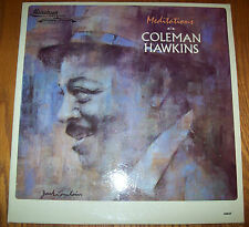 RARE Coleman Hawkins DJ COPY WHITE LABEL Meditations PROMO Mainstream 56037 MONO