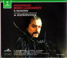 MUSSORGSKY: BORIS GODUNOV Raimondi Gedda Galina Vishnevskaya ROSTROPOVICH 3CD