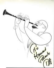 Legendary Jazz Clarinetist Pete Fountain Autographed 8 x 10 signed with Coa