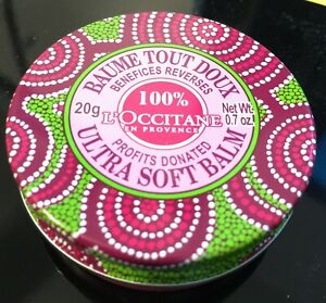 L'Occitane Ultra Soft Balm Limited Ed. Rose scent.  BNIB 20g