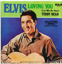 """ELVIS PRESLEY Loving You / Teddy Bear 1977 US PS MINT JUKEBOX VINYL SINGLE 7""""/45"""