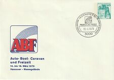 1982 Germany cover Hannover - Auto Boat Caravan and Leisure Exhibition