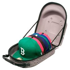 Homiegear Brand Carrier Case - 6 Hats for New Era Caps, Snap Back, Fitted (El...