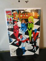EXCALIBUR (1988 Series) (MARVEL) #47 BAGGED BOARDED