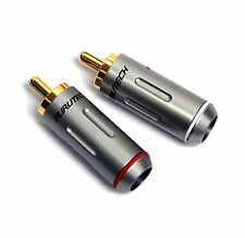 2pair FURUTECH FP-162(G) FP-162 RCA Connector Male Plug Gold-Plated Japan