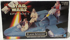 STAR WARS : FLASH SPEEDER WITH LAUNCHING LASER CANNON MODEL (SK)