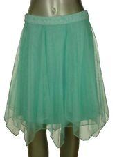 NWD Speechless Women's Juniors Crop Top Tulle Skirt Mint 11