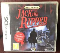 Real Crimes: Jack the Ripper (Nintendo DS) 2DS / 3DS