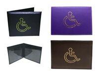 Disabled Blue Badge Holder Safe Parking Permit Display Cover Wallet