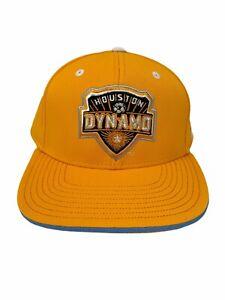 Adidas Houston Dynamo Hat Snapback Orange MLS Soccer Football Club