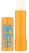 Sweat Resistant Maybelline Baby Lips Sport SPF 20 Seas The Blue 8 Hour Moisture