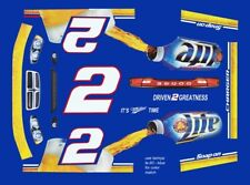 #2 Brad Kesolowski Miller 2011 Dodge Charger 1/24th - 1/25th Scale Decals