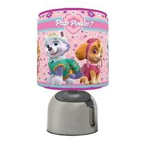 PINK PAW PATROL LIGHT TOUCH LAMP  KIDS GIRLS ROON MATCHES DUVET SET  FREE P&P