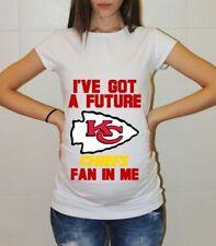 Kansas City Chiefs Baby Shower Maternity Shirt Pregnancy T-shirt Mom to be Shirt