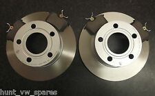 QUALITY JURATEK REAR BRAKE DISCS AND PADS AUDI A6 (C4 C5) SOLID 245MM