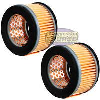 2 Puma Air Compressor Intake Filters 5 Hp to 7 1/2 HP Models Pack Part # 2142002