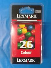 Cartucho de tinta Lexmark Nº 26 Color ORIGINAL - GENUINE