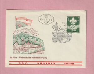 Austria, World Boy Scout Jubilee,  Special Cover, 1962