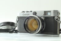 [Exc+5] Canon P 35mm Rangefinder Film Camera + 50mm F/1.4 Lens +strap from JAPAN