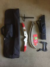 "Samick Progress Recurve Bow 66"" 30lbs and Extras"