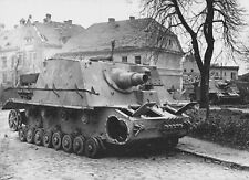 WW2 Photo WWII  Abandoned German Brummbar  World War Two Wehrmacht / 4164