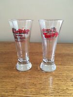 Miracle Ballpark Festival of Beers 2008 4oz Beer Glasses SET OF 2 Shoeless Joe's