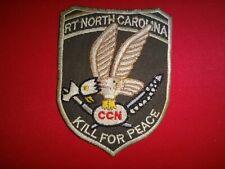 Vietnam War Patch US 5th SFGrp MACV-SOG RT NORTH CAROLINA CCN KILL FOR PEACE