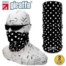 Black-224 Balaclava Bandana Face Mask Neck Tube Scarf Snood Warmer headgear