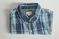 Maddox Men's Check Short Sleeve Shirt Size XXL