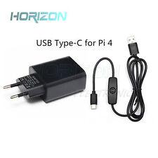 Raspberry Pi 4 B Power Supply Adapter Charger 5V 3A for Raspberry Pi 4 Model B