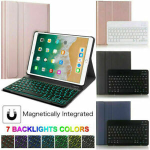 "For iPad 10.2"" 8th Gen 2020 7th 2019 Wireless Backlit Keyboard Smart Cover Case"