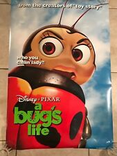 "A BUG'S LIFE 1998 Original Auth 27x40 D/S DISNEY movie poster ADV STYLE ""DOT"""