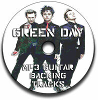 66 x GREEN DAY STYLE ROCK GUITAR MP3 BACKING TRACKS CD ANTHOLOGY LIBRARY