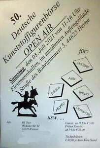 Ticket Kunststoff Figuren Börse Samstag 03.07. Herne 1/72 Timpo Elastolin Airfix