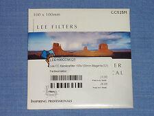 Lee Wratten Filter  100x100  CC025M