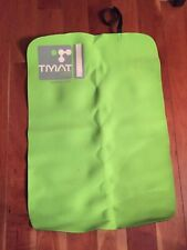 TMAT PRO Triathlon transition mat, neon green